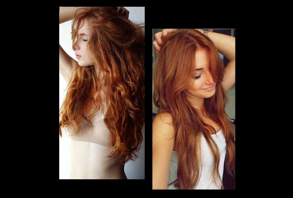 Colore capelli ginger